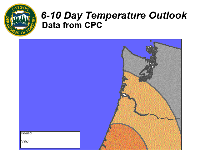 6 10 Day Temperature Outlook